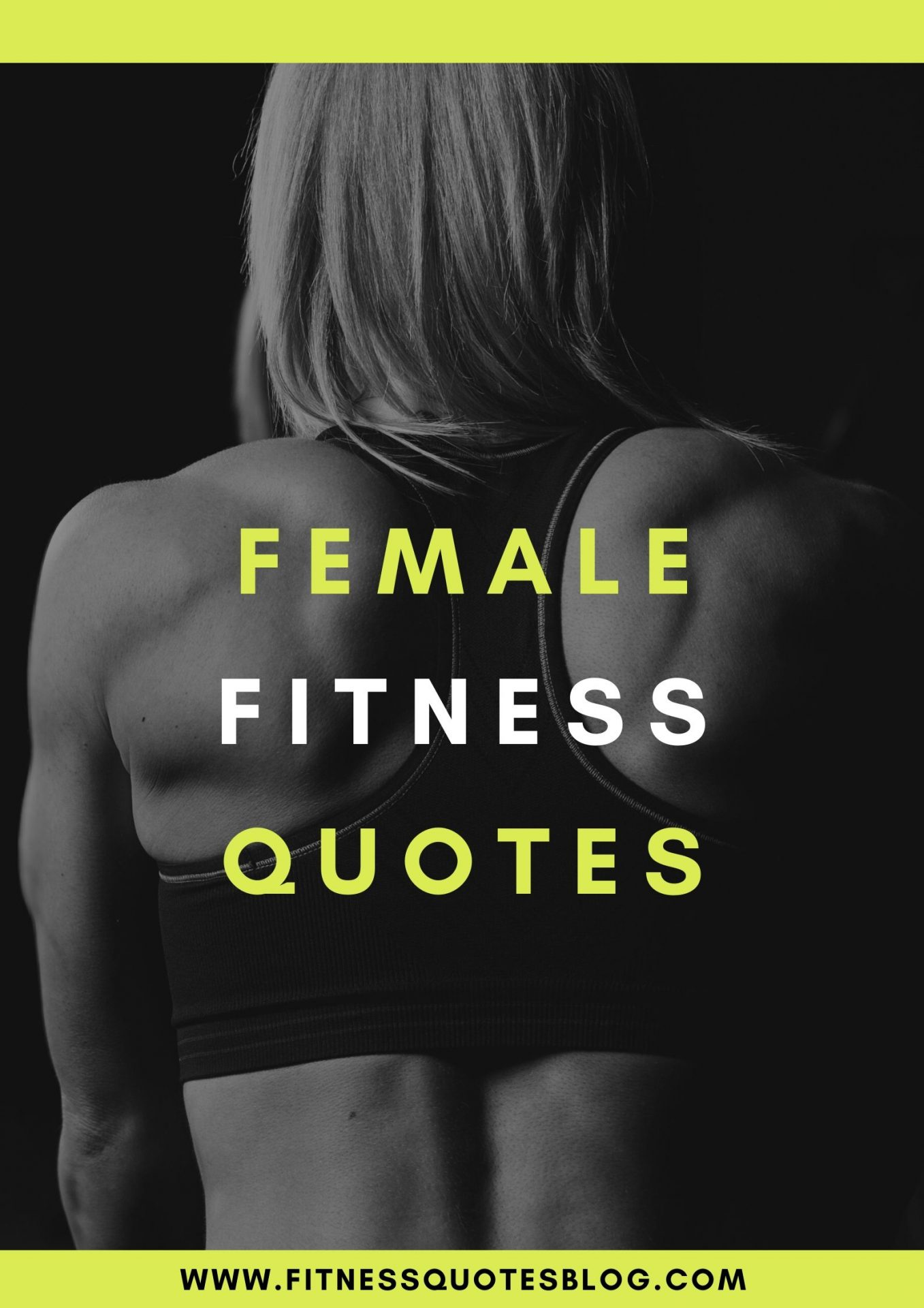 47 Female Fitness Quotes Fitness Quotes