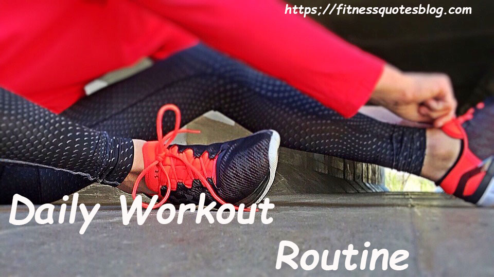 daily workout routine