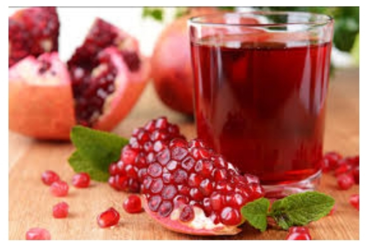 Medicinal ingredients in pomegranate